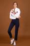 Pantalon tailleur new york navy - 17h10 num 0