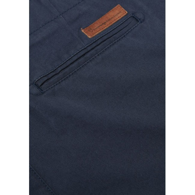 Chino marine en coton bio - chuck - Knowledge Cotton Apparel num 3