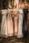 Écharpe maras en royal alpaga - couleur naturelle - Pitumarka - 1