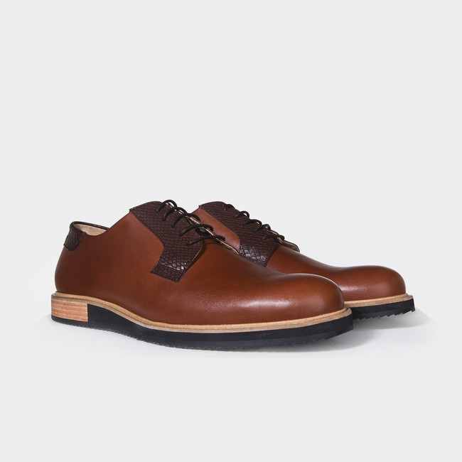 Derbies alpha low - camel - Subtle num 1