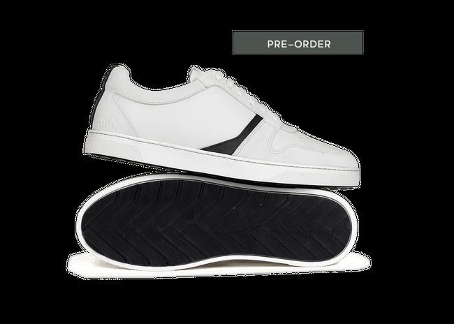 Chaussure semelle pneu recyclé suède off-white - glencoe - Oth