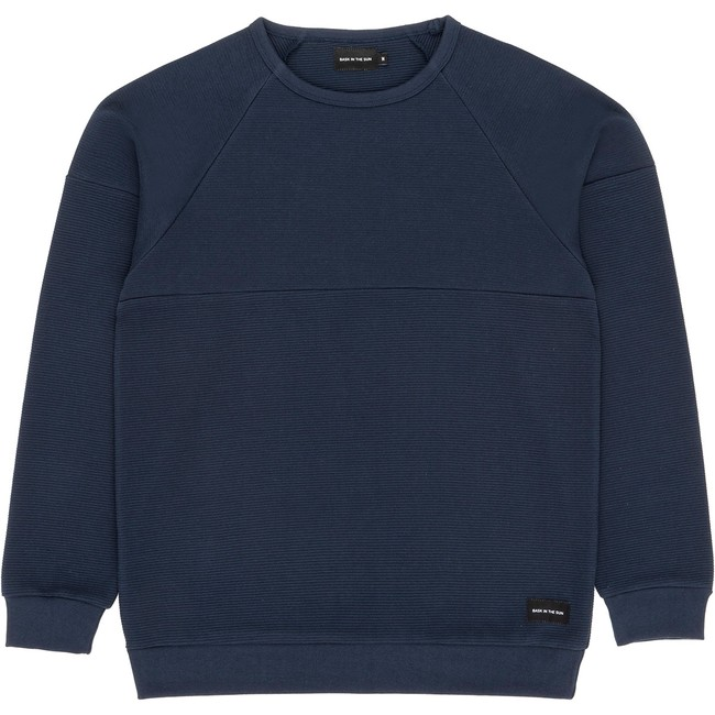 Sweat en coton bio navy danel - Bask in the Sun