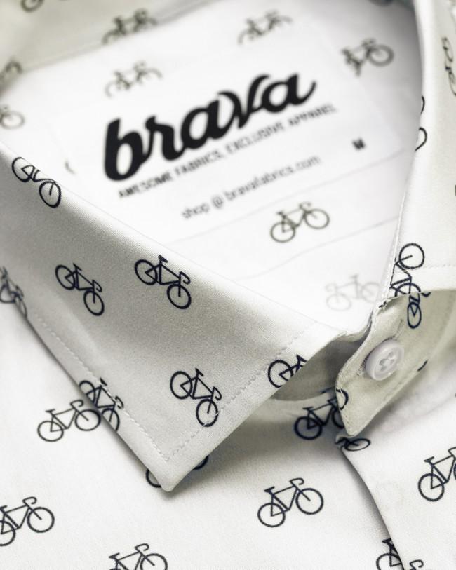 Fixed gear rider printed shirt - Brava Fabrics num 3