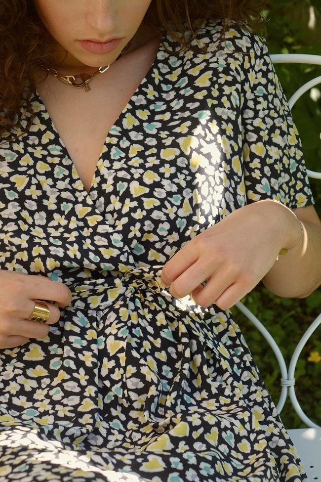 Robe faustine courte - Alfa num 2