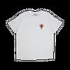 T-shirt blanc en lyocell • éléphant rouge - Omnia in uno - 4