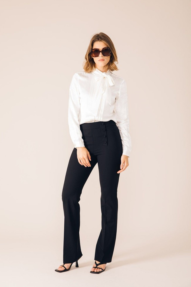Pantalon tailleur oslo noir - 17h10