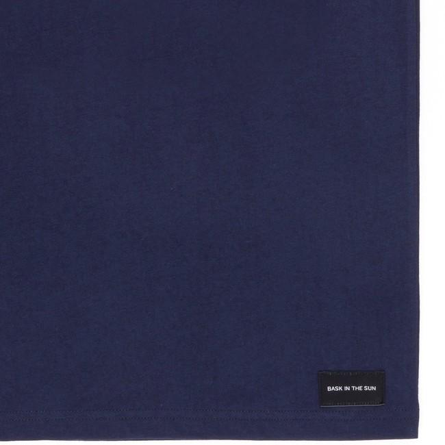 T-shirt en coton bio navy wine - Bask in the Sun num 3