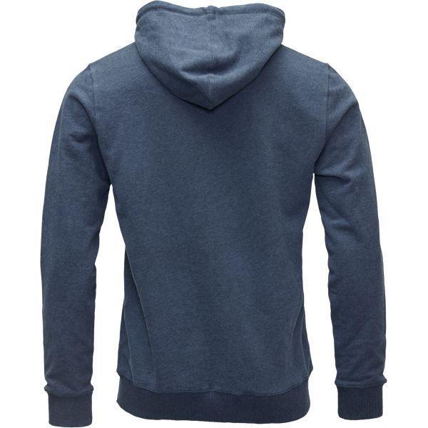 Veste zippée bleue en coton bio - Knowledge Cotton Apparel num 1