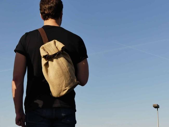 Petit sac à dos bandoulière - balish - Bhallot num 3