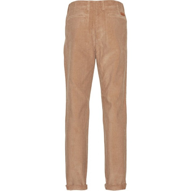 Chino velours marron en coton bio - Knowledge Cotton Apparel num 1