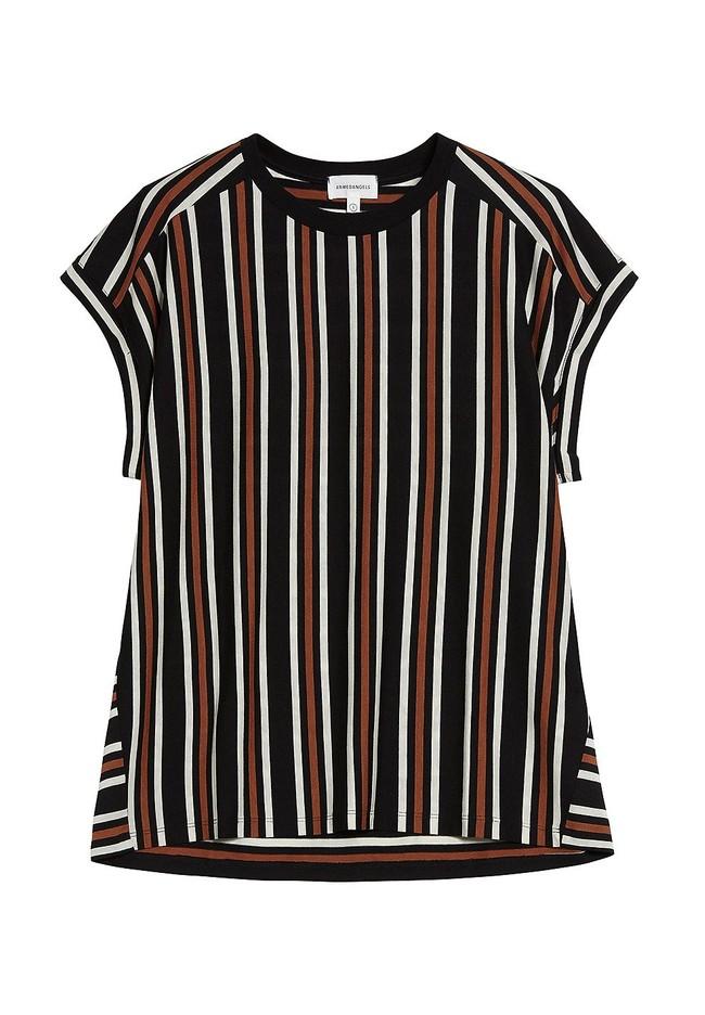 T-shirt rayé en tencel et coton bio - marthaa - Armedangels num 4