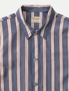 Chemise manches courtes rayée en coton bio - svante cuban - Nudie Jeans - 6