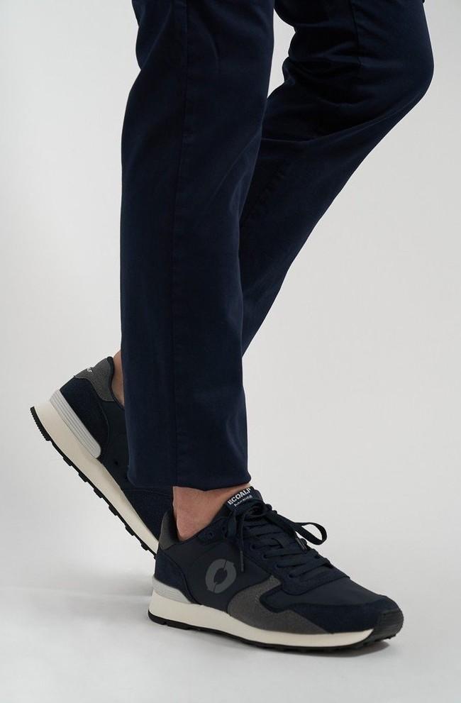 Baskets marine et grises - yale sneakers - Ecoalf num 2