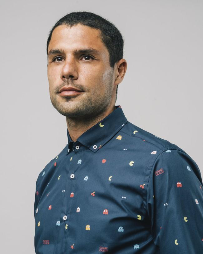 Printed shirt pac-man™ x brava - Brava Fabrics num 4
