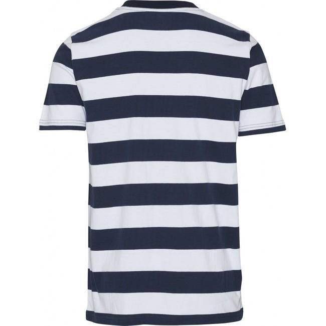 T-shirt rayé en coton bio - Knowledge Cotton Apparel num 1