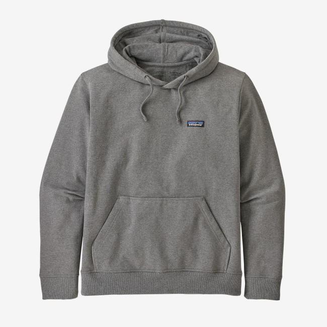 Sweat à capuche gris en polyester et coton recyclé - p6 logo uprisal hoody - Patagonia