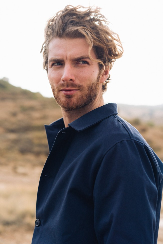 Veste recyclée - la veste bleue - Hopaal num 2