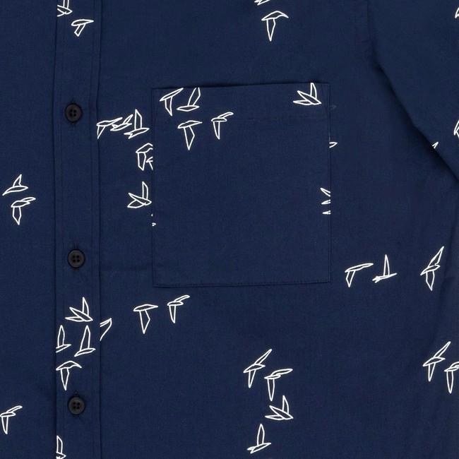 Chemise navy seagull - Bask in the Sun num 2