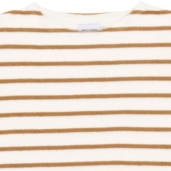 T-shirt en coton bio sand goxo - Bask in the Sun num 1
