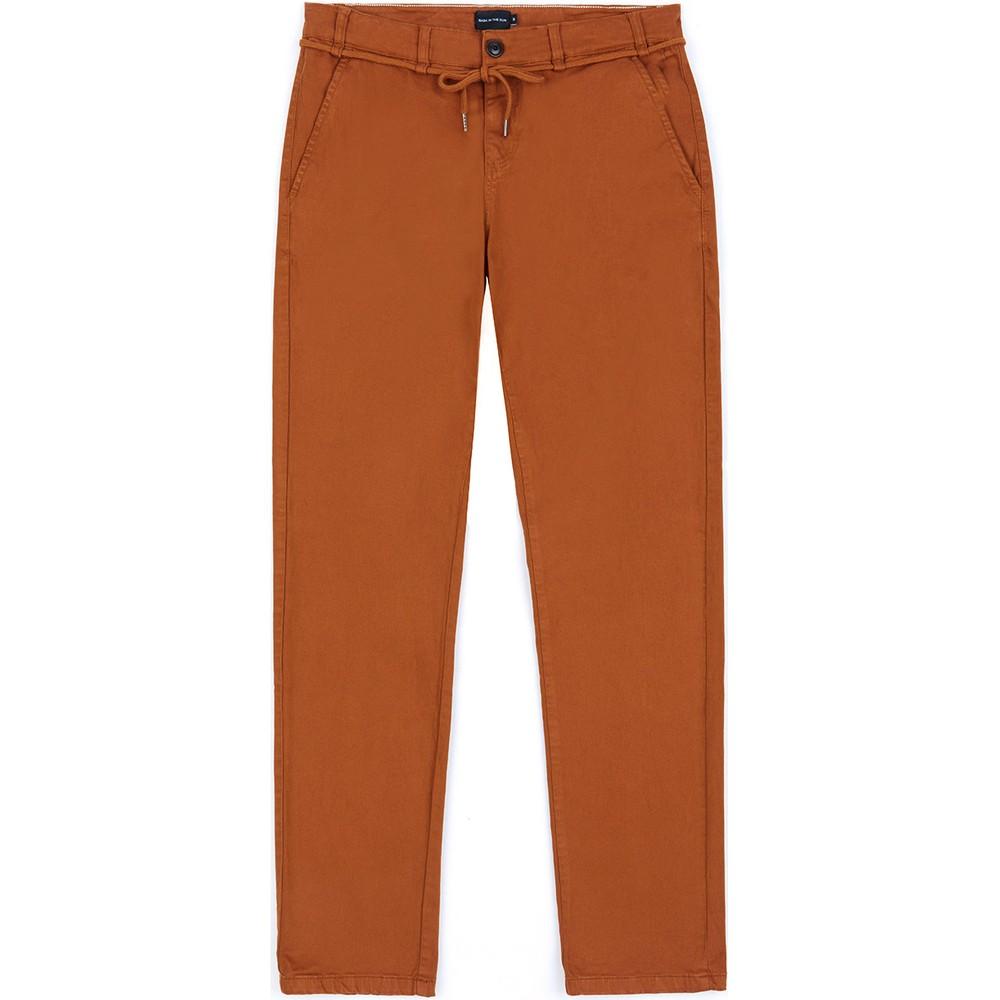 Pantalon en coton bio caramel tiago - Bask in the Sun