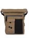 Sac à dos waxé marron recyclé - carrik - pinqponq num 0