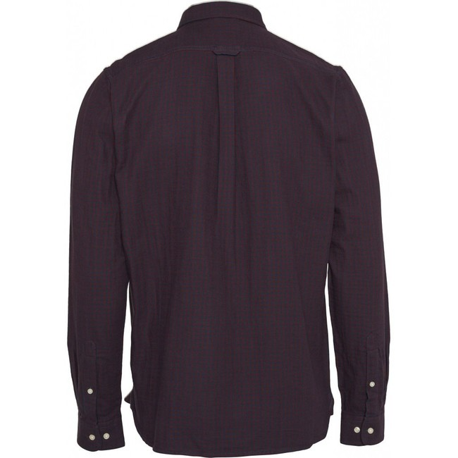 Chemise à carreaux en coton bio - Knowledge Cotton Apparel num 1