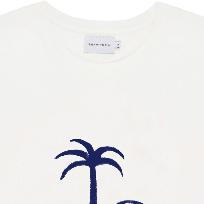 T-shirt en coton bio natural no problemo - Bask in the Sun num 1