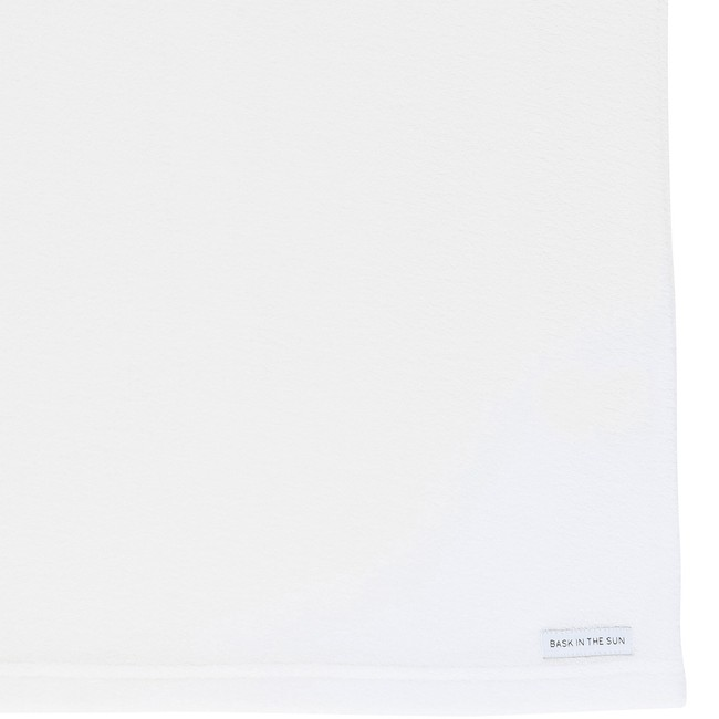 T-shirt en coton bio white andoni - Bask in the Sun num 3