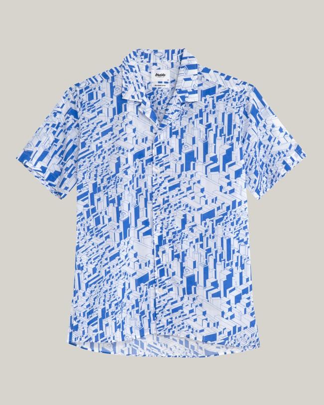 Urban district aloha shirt - Brava Fabrics num 1