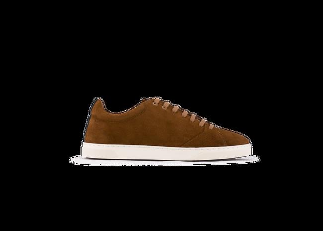 Chaussure en gravière suède cognac / semelle off-white - Oth num 3