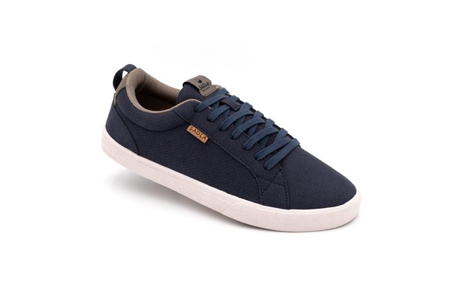 Chaussures recyclées cannon blue night homme - Saola
