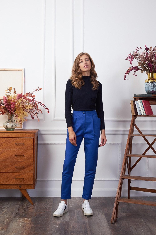 Pantalon kipants bleu de travail - Les Récupérables