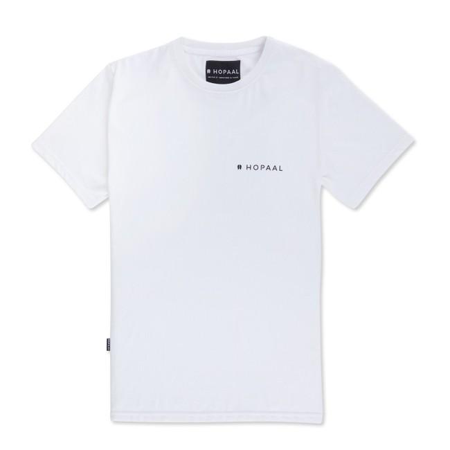 T-shirt recyclé - édition white - Hopaal