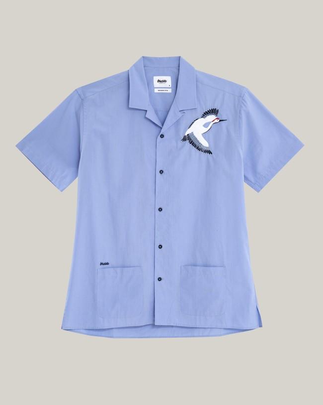 Crane for luck essential shirt - Brava Fabrics num 2