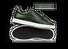 Chaussure en gravière cuir vert sapin - Oth - 1