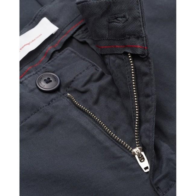 Chino slim bleu nuit en coton bio - joe - Knowledge Cotton Apparel num 2