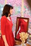 La Robe Ecume en coton bio - rouge - Atelier Unes - 1