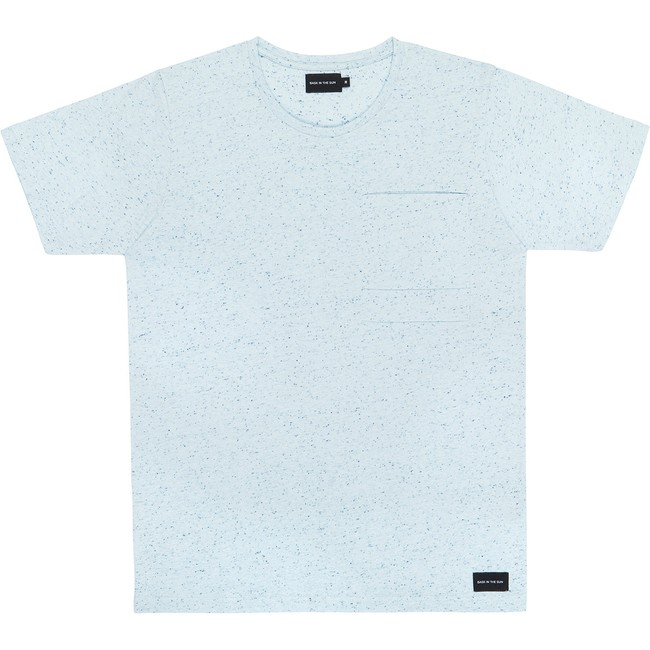 T-shirt en coton bio blue pantxoa - Bask in the Sun