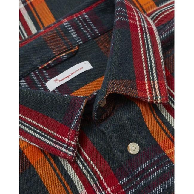 Chemise à carreaux twill en coton bio - Knowledge Cotton Apparel num 2