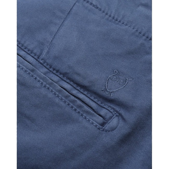 Chino slim indigo en coton bio - joe - Knowledge Cotton Apparel num 3