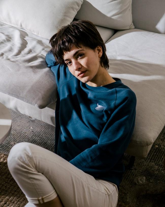 Japanese sky sweatshirt - Brava Fabrics num 6