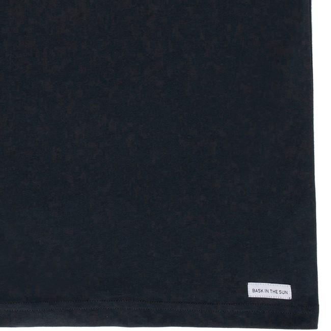 T-shirt en coton bio black printer - Bask in the Sun num 3
