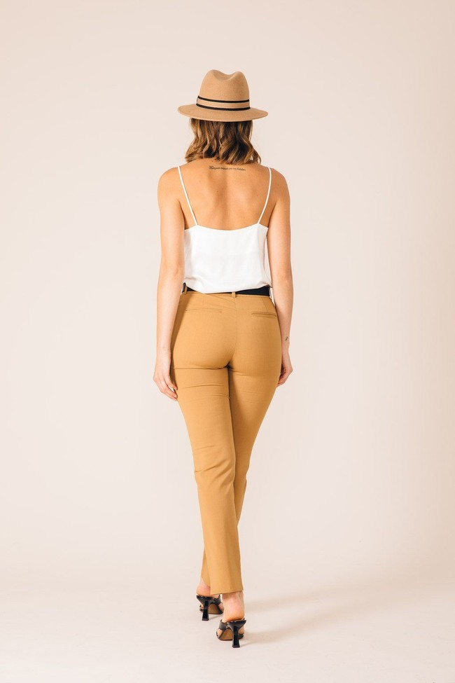 Pantalon tailleur new york camel - 17h10 num 1