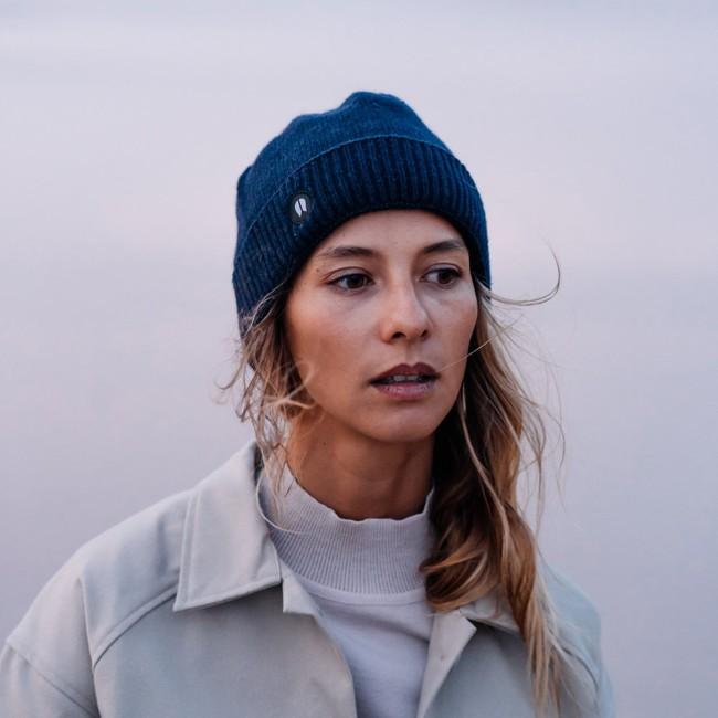 Bonnet recyclé - sailor bleu marine - Hopaal num 1