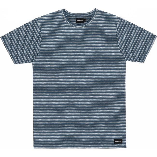 T-shirt blue eduardo - Bask in the Sun