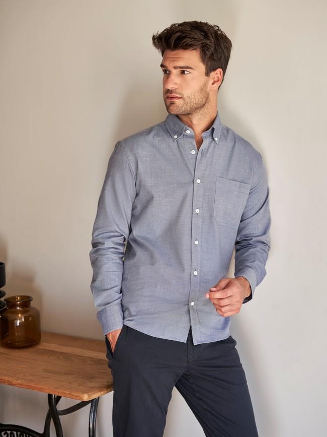 La chemise chambray | coton fair trade, tissage français - Lautrec num 4