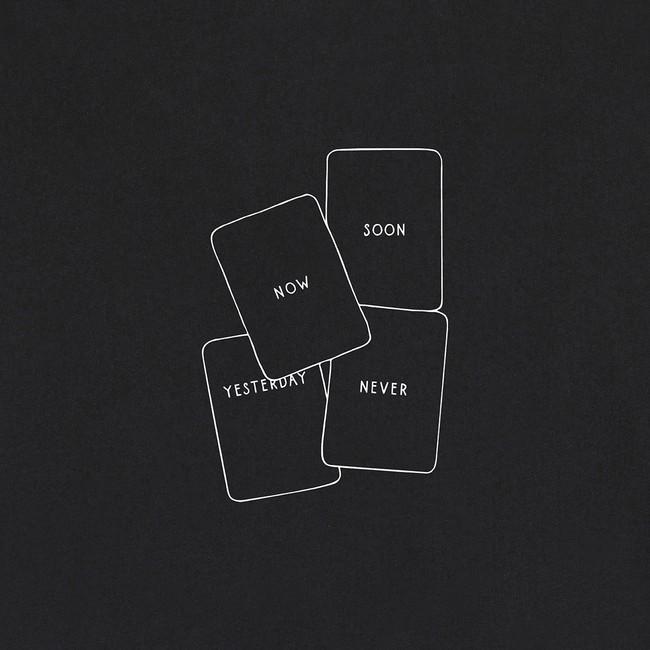 Sweat en coton bio black cards - Bask in the Sun num 1