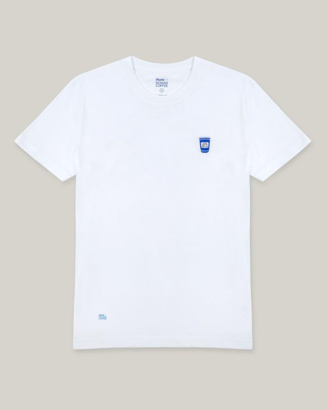 Nomad coffee x brava t-shirt - Brava Fabrics num 1