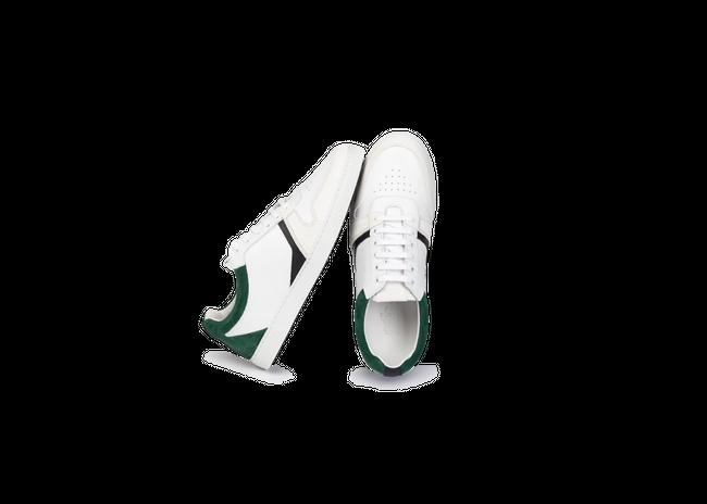 Chaussure en glencoe cuir blanc / suède sapin - Oth num 1