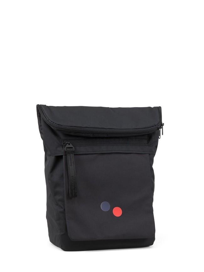 Sac à dos noir en plastique recyclé - klak - pinqponq